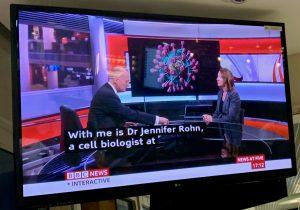 Interview on BBC news