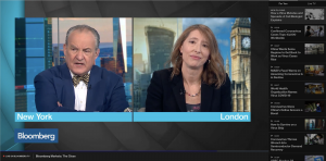 Jenny on the Bloomberg channel
